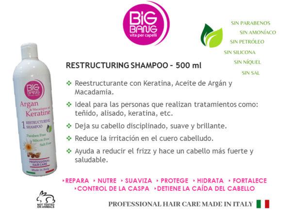 Shampoo & Restructuring Mask
