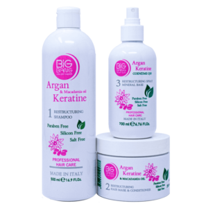TRATAMIENTO REESTRUCTURANTE BIG BANG ARGAN KERATINE